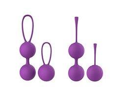 Kegel Oefening Vaginale Ballen Gewichten Blaas Controle Bekkenbodem Oefeningen 2 Stks/set Premium Kegels Met Training Kit voor Vrouwen