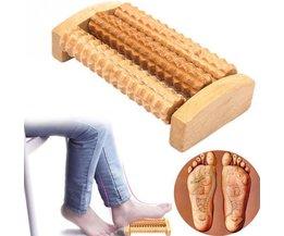 Hoge Qulity Voet Massager Traditionele Houten Roller Massager Zonder Elektriciteit Massage Ontspanning Gezondheidszorg Product