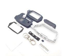Russische versie C9 case sleutelhanger voor starline C4 C6 lcd twee manier auto remote