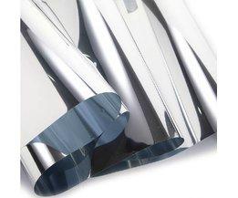 Reflecterende zilveren 20in x 5ft Commerciële Building window film privacy security Tinten 20% VLT