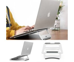 Auregon Universele Opvouwbare Draagbare Laptop Stand Aluminium Cooling Verstelbare Bureau Stand PC Tablet Houder Macbook Pro