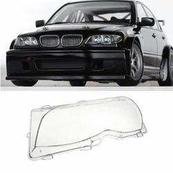 MyXL Links Driver Side Koplamp Lens Plastic Cover Bmw E46 3-Series 4DR 2001 2002 2003 2004 2005 63126924045 Vervanging Deel