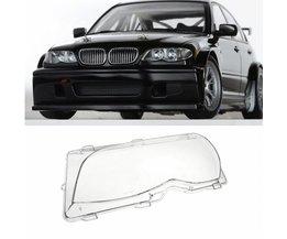 Links Driver Side Koplamp Lens Plastic Cover Bmw E46 3-Series 4DR 2001 2002 2003 2004 2005 63126924045 Vervanging Deel