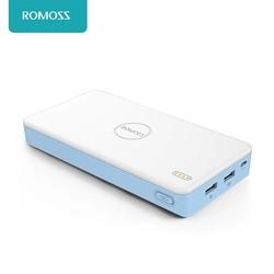 MyXL ROMOSS PB20XC Quick Lading 2.0 20000 mAh Externe Batterij Power Bank Voor iPhone 7 7 plus VOOR SAMSUNG GALAXY tabletten PCS
