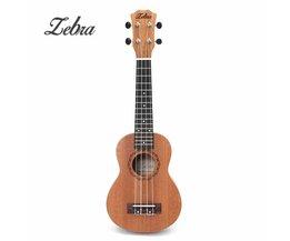 21 inch 15 Frets Mahonie Sopraan Ukulele Gitaar Uke Sapele Rosewood 4 Strings Hawaiian Gitaar Muziekinstrumenten Voor Beginners