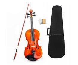 1/8 Size Akoestische Viool met Fijne Case Bow Rosin voor Leeftijd 3-6 M8V8