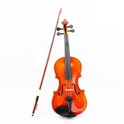 MyXL NAAIT 1/8 Size Akoestische Viool met Fijne Case Bow Rosin voor Leeftijd 3-6 M8V8