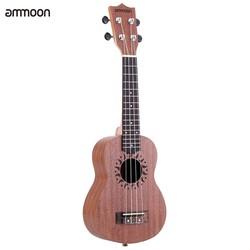 MyXL Ammoon Ukulele 21 Mini Akoestische Gitaar Sapele Concert Ukelele 15 Frets 4 Gitaar String Instrument