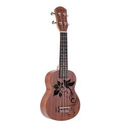 "MyXL 21 ""Ukulele Sapele Mini Gitaar Ukelele Palissander Toets Mahonie Nek Nylon String 4 Strings Muziekinstrument"