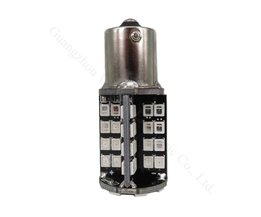 WLJH 2x Canbus Foutloos Rode Auto LED Gloeilamp Stop/Remlicht/Lampen 1156 382 P21W BA15S 2835 79SMD Led verlichting
