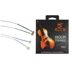 MyXL Professionele cupronickel alloy viool snaren (4 stks incude een pak) vioolsnaren pirastro snaren viool