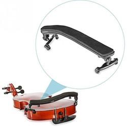 MyXL Verstelbare Zwart Viool Schoudersteun Rubber Gewatteerde Voor 3/4 4/4 Universele Fiddler Schouderstuk Viool Onderdelen