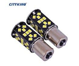 10 stks/partij Super Heldere Wit High Power 21 W 1156 48led 2835 SMD ba15s 1156 Led-lampen Voor Rem, DRL, Richtingaanwijzer, Backup Lights