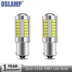 MyXL Oslamp 2 stks 1156 BA15S Led Auto Lampen Witte 6000 K DC12v Klaring Light Break Light Knipperlichten Backup Reverse licht