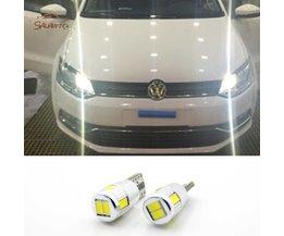 2X LED T10 W5W Klaring Lichten Parkeerplaats licht Voor VW POLO Golf 4 5 6 7 GTI Passat b5 B6 JETTA MK5 MK6 CC EOS Touareg Kever