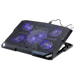 "MyXL Draagbare USB Notebook Laptop Cooler Pad Cooling Base Chill Mat Radiator tot 2000 RPM voor Geen Meer Dan 15.6"""