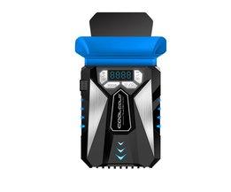 COOL KOUDE Mini Draagbare Laptop Notebook Geluidsarm USB Air Extraheren Cooler Koelventilator Radiator Lcd-scherm Speed Verstelbare