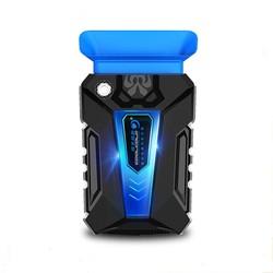 MyXL COOL KOUDE Draagbare Geluidsarm Stille USB Air Extraheren Laptop Notebook Cooler Koelventilator Radiator met Vacuüm Fan Vier Mouwen