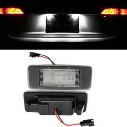 MyXL HOPSTYLING 2x Wit 18 SMD LED Aantal Kentekenverlichting Module voor Opel Vauxhall Astra J Sport Tourer Estate Zafira Tourer C