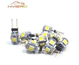 10 stks Mini G4 LED Lamp COB LED 3 W AC/DC 12 V Auto Aoto Dashboard LED Licht Dimbare 360 Stralingshoek Kroonluchter Lichten Vervangen lampen
