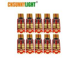 CNSUNNYLIGHT 10 stks High Power T10 W5W 4014 15SMD SMD LED Auto Auto Wedge Parking Lampen Lamp DC 12 V Dome Klaring Kofferbak Verlichting