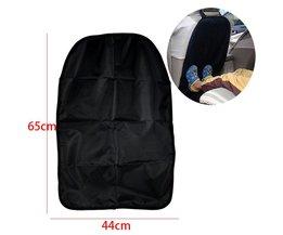 Zwarte Autostoel Back Protector stofdicht Kinderen Kick Mat Beschermt tegen Modder Dirt waterdichte Auto-cover auto stoelhoezen