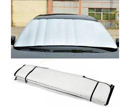 Raamfolies Voorruit Zonnescherm Voorruit Visor Cover Block Voorruit Zonnescherm UV Beschermen Auto Glasfolie 147*69 cm # SA