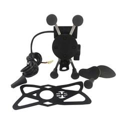 MyXL Motorfiets ATV Dirt Elektrische Fiets X Grip Mount Gsm Houder Met Usb-oplader Voor Telefoon SNS GPS