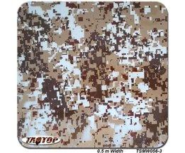 TSMW056-3 0.5 m * 2 M Populaire digitale camo hydro dompelen film hydrografische film water transfer printing film