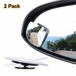 MyXL 2 stks/partij Verstelbare frameloze HD Glas Auto Dodehoekspiegel voor parking Auxiliary achteruitkijkspiegel Fan Vorm