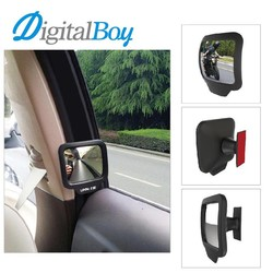 MyXL Digitalboy 2pcs/lot Car Safety Wide Angle Back Seat Inner Mirror Car Assist Blind Spot Mirror Rearview Mirror Child Baby Care
