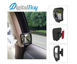 Digitalboy 2pcs/lot Car Safety Wide Angle Back Seat Inner Mirror Car Assist Blind Spot Mirror Rearview Mirror Child Baby Care