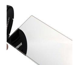 Grote Zonneklep Spiegel Auto Make Zonnescherm Rvs Achteruitkijkspiegel Auto Cosmetische Spiegel Spiegel Auto Levert