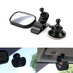 MyXL Auto Baby Achteruitkijkspiegel Extra Spiegel Observeren Kinderen Voertuig Endoscoop Auto Verstelbare Baby Spiegel Maat 8.8*5.6*2.2 CM