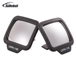 MyXL AUMOHALL 2 stks Verstelbare Blind Spot Spiegels Achteruitkijkspiegel Stok Groothoek Auto Rv Truck van Zijaanzicht Bolle zelf adhesive