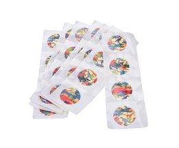 100 Stks Ronde Waterdichte Bandage Pleister Ehbo Bandage Lijm Wond