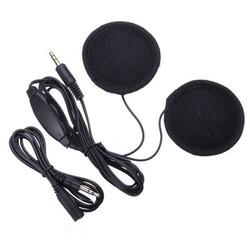 MyXL TOYL Motorfiets Fiets Scooter Helm Sport Stereo Hoofdtelefoon Headset Voor MP3 Telefoon Zwart