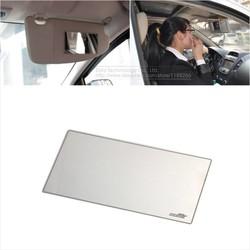 MyXL 15X8 cm Auto Make Spiegel Auto zonwering Rvs Spiegel Auto Cosmetische Spiegel Auto-interieur spiegel