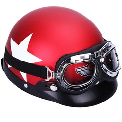 MyXL CARCHET Motorhelm Bril 55-60 cm Beschermende Veiligheid Helmen Motocross Helmen cascos para moto