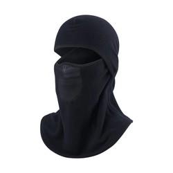 MyXL Zwarte Motor Helm Masker Motorfietsen Outdoor Hoods Winddicht Masker Stofdicht Fietsen Hoods Motorfiets Stofmasker Head Cover