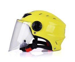 Zomer 57-59 cm Motorhelm Scooter Open Gezicht Half Helm OF100 Moto Casque Casco motocicleta Capacete Cruiser Helmen