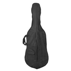 MyXL Draagbare 4/4 & 3/4 Cello Gig Draagtas Case Rugzak Verstelbare Schouderriem Zwart