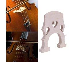 Exquisite Cello Bridge 4/4 3/4 Top Kwaliteit Streep Esdoornhout Professionele Esdoornhout Cello Contrabas Brug Accessoires