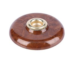 1 stks Cello End Pin Accessoires met Metalen Eye Bruin Cello Antislipmat Pin Stopper Muziekinstrumenten Onderdelen & accessoires