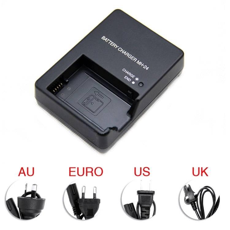 AoneCheer Camera Acculader voor Nikon En-el14 P7100 P7000 D3100 D5200 D5100 D3200 D3300 D5300 P7000