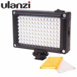 MyXL Ulanzi 112 LED Dimbare Video Light Oplaadbare Panal Licht (wit & Warm Licht) voor DSLR Camera Videolight Bruiloft Opname