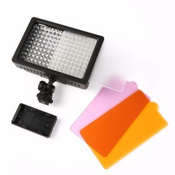 MyXL 160 LED Video Lamp 1280LM 5600 K/3200 K Dimbare voor Canon Nikon DSLR Camera Fotografische Verlichting