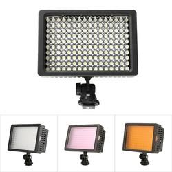 MyXL 160 LED Led Video Camera Licht Verstelbare 3200 K 5500 K Fotografie DSLR Photo Light voor Canon Nikon Sony & DV Camera Comcorder