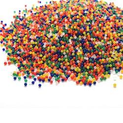 MyXL 10000 stks/zak pearl vormige crystal bodem water kralen mud grow magic jelly ballen home decor aqua soil-f1fb