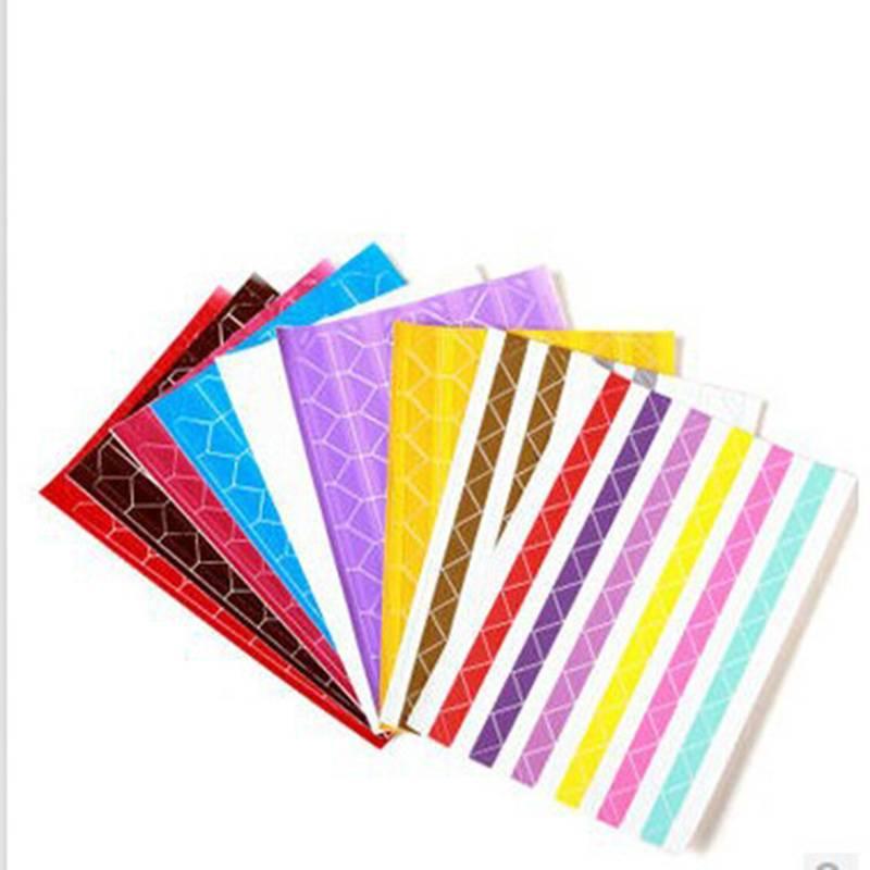 510 stks-partij Interieur DIY Vintage Corner kraftpapier Stickers voor Fotoalbums Frame Decoratie Sc